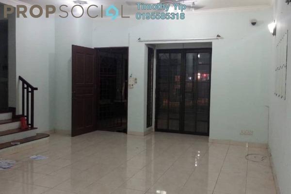 For Sale Terrace at SL4, Bandar Sungai Long Freehold Semi Furnished 4R/3B 640k