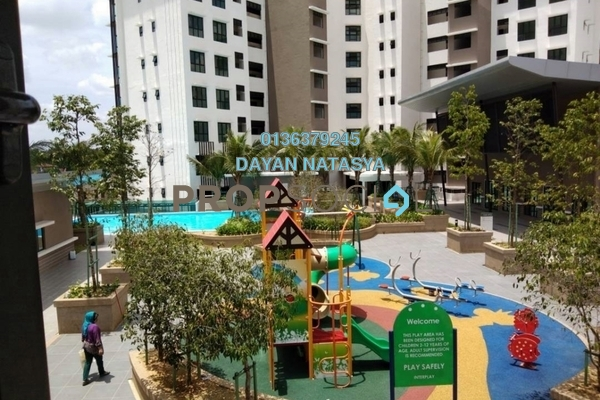 For Sale Condominium at Lake Vista Residence, Bandar Tun Hussein Onn Freehold Unfurnished 3R/2B 590k