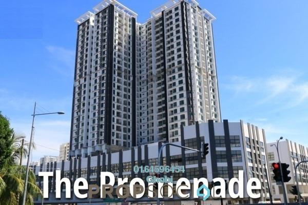 For Rent Condominium at Promenade Residence, Bayan Baru Freehold Fully Furnished 3R/2B 1k