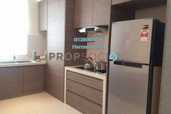 For Rent Condominium at Saville @ The Park, Pantai Freehold Semi Furnished 3R/2B 2.55k