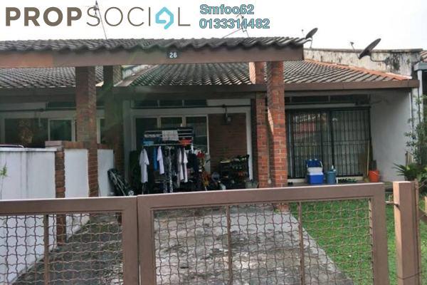 For Sale Terrace at Pinggiran Taman Tun Dr Ismail, TTDI Freehold Unfurnished 3R/2B 1.11m