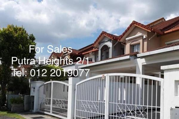 For Sale Terrace at Putra Avenue, Putra Heights Freehold Fully Furnished 4R/3B 790k