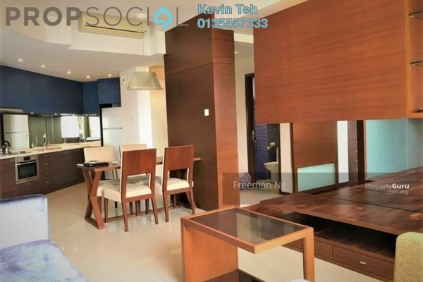 For Rent Condominium at VERVE Suites, Mont Kiara Freehold Fully Furnished 1R/2B 3k