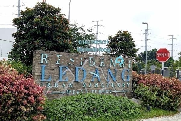 For Sale Townhouse at East Ledang, Iskandar Puteri (Nusajaya) Freehold Semi Furnished 3R/3B 868k