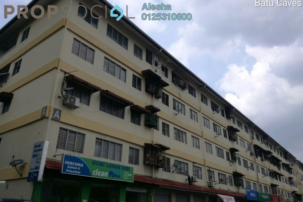 For Sale Condominium at Sri Pelangi, Setapak Freehold Unfurnished 0R/0B 380k