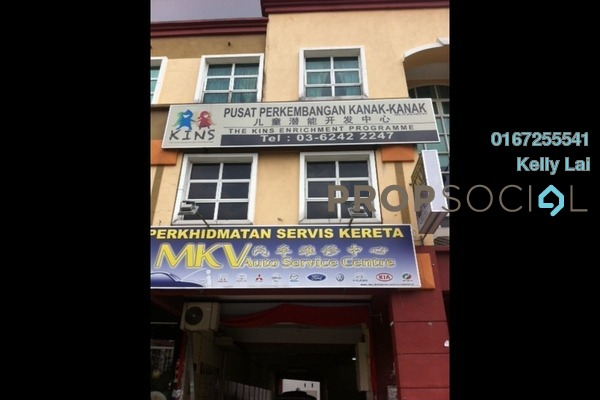 For Rent Office at Laman Rimbunan, Kepong Freehold Semi Furnished 0R/2B 1.4k