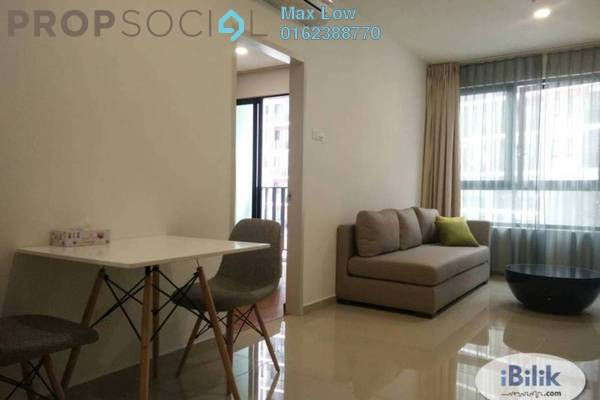 For Rent Condominium at i-City, Shah Alam Freehold Fully Furnished 2R/1B 1.5k