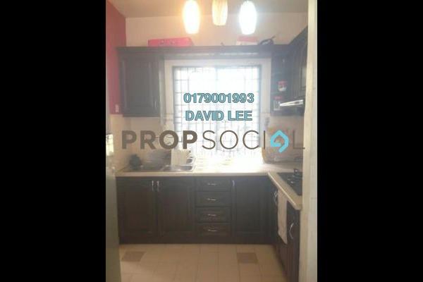 For Rent Apartment at Salvia Apartment, Kota Damansara Freehold Semi Furnished 3R/2B 1.2k