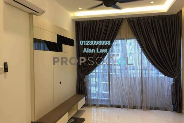 For Sale Serviced Residence at Seasons Garden Residences, Wangsa Maju Freehold Semi Furnished 3R/2B 515k