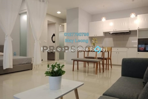 For Rent Condominium at BayBerry Serviced Residence @ Tropicana Gardens, Kota Damansara Freehold Semi Furnished 1R/1B 3.1k