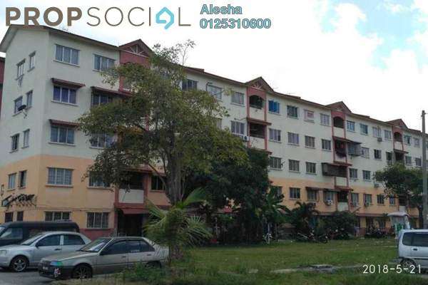 For Sale Apartment at Taman Pendamar Indah 2, Port Klang Freehold Unfurnished 0R/0B 53.3k
