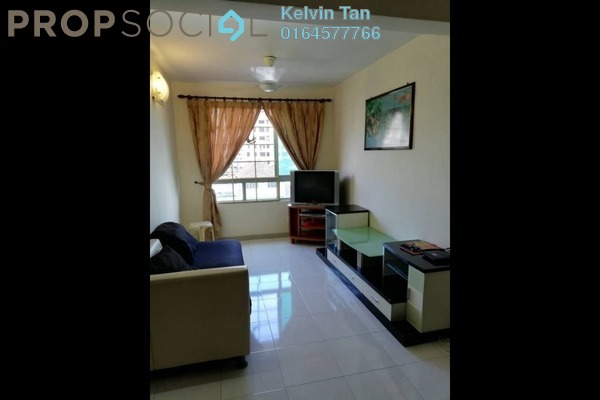 For Rent Apartment at Taman Kheng Tian, Jelutong Freehold Fully Furnished 3R/2B 1k