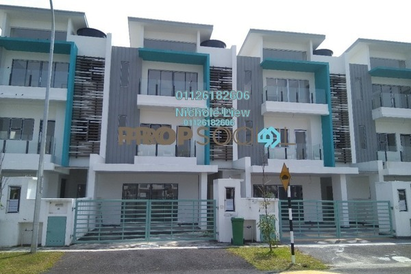 For Sale Superlink at Setia EcoHill, Semenyih Freehold Unfurnished 5R/4B 650k