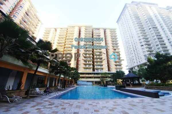 For Sale Condominium at Platinum Hill PV6, Setapak Freehold Unfurnished 4R/2B 550k