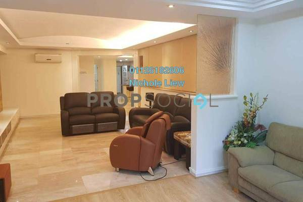 For Sale Serviced Residence at Bukit Tunku, Kenny Hills Freehold Fully Furnished 4R/3B 1.5m