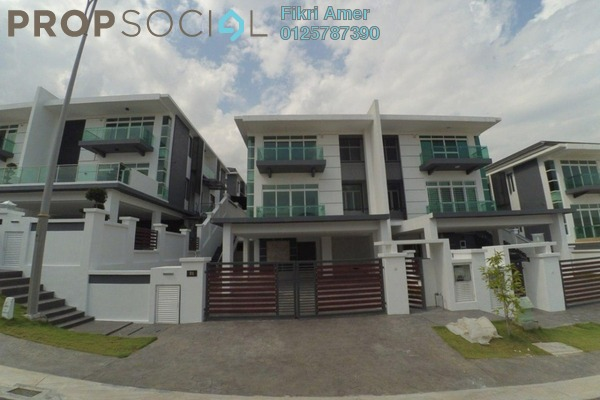 For Sale Semi-Detached at Wira Heights, Bandar Sungai Long Freehold Unfurnished 5R/7B 1.8m