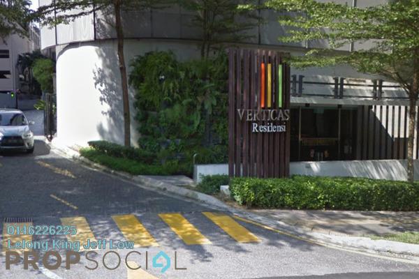 For Sale Condominium at Verticas Residensi, Bukit Ceylon Freehold Semi Furnished 3R/3B 1.13m