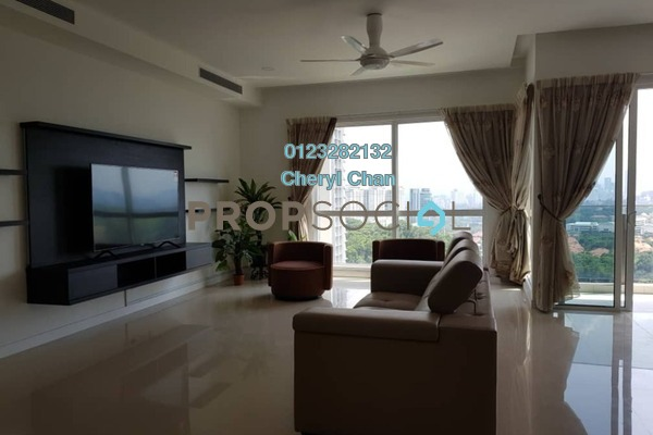 For Rent Condominium at Pavilion Hilltop, Mont Kiara Freehold Fully Furnished 3R/6B 9k