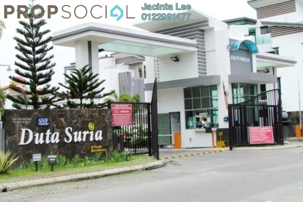 For Sale Semi-Detached at Duta Suria, Ampang Leasehold Semi Furnished 7R/7B 2.1m