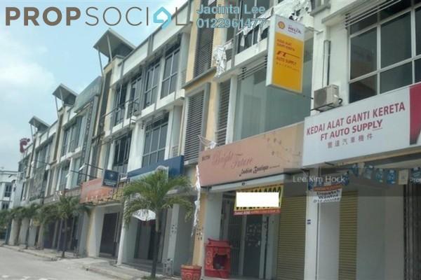 For Sale Shop at Klang Sentral Commercial Centre, Meru Freehold Unfurnished 0R/2B 319k