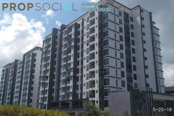 For Sale Condominium at Emerald Residence, Bandar Mahkota Cheras Freehold Unfurnished 0R/0B 450k
