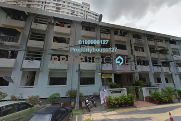 For Sale Apartment at Cuepacs Apartment, Brickfields Freehold Unfurnished 0R/0B 250k