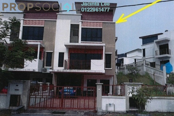 For Sale Terrace at Bandar Saujana Utama, Sungai Buloh Freehold Semi Furnished 5R/3B 569k