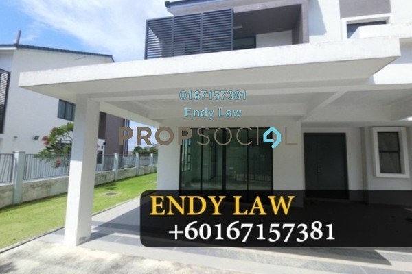 For Sale Semi-Detached at Nusa Idaman, Iskandar Puteri (Nusajaya) Freehold Unfurnished 6R/5B 945k