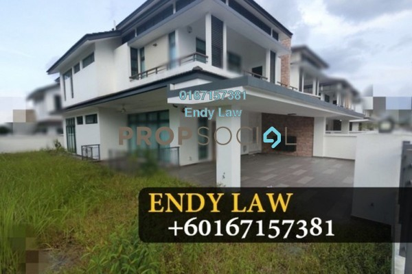 For Sale Semi-Detached at Eco Botanic, Skudai Freehold Fully Furnished 5R/5B 2.3m