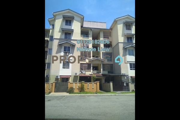 For Sale Apartment at Kasuarina Apartment, Klang Freehold Semi Furnished 3R/2B 195k