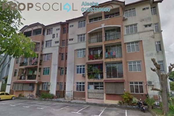 For Sale Apartment at Dahlia Court Apartment, Sepang Freehold Unfurnished 0R/0B 160k