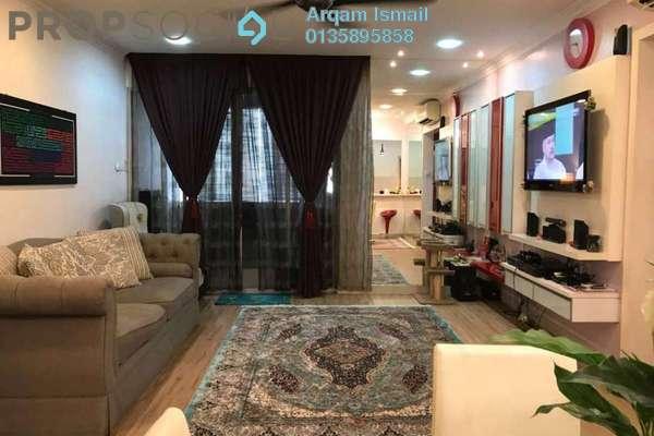 For Sale Condominium at Aman Heights, Seri Kembangan Freehold Fully Furnished 4R/2B 420k
