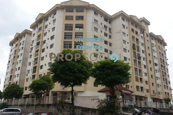 For Sale Apartment at Taman Bukit Kenangan, Kajang Freehold Unfurnished 3R/2B 138k