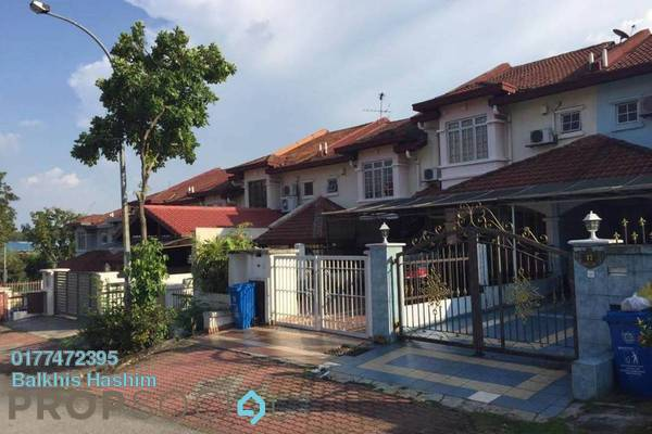 For Sale Terrace at Section 13, Shah Alam Freehold Semi Furnished 4R/3B 630k