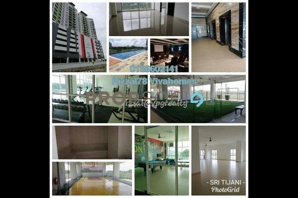 For Rent Serviced Residence at Seri Tijanni, Bukit Rahman Putra Freehold Unfurnished 3R/2B 1.5k