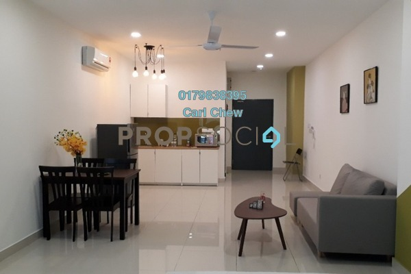 For Rent SoHo/Studio at Atria, Damansara Jaya Freehold Fully Furnished 1R/1B 1.8k