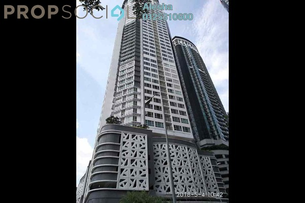 For Sale Serviced Residence at The Crest, Kuala Lumpur Leasehold Unfurnished 0R/0B 756k