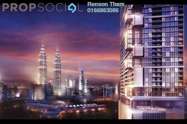 For Sale Condominium at Lavile, Kuala Lumpur Freehold Semi Furnished 2R/2B 630k