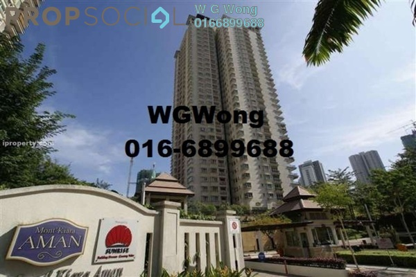 For Sale Condominium at Aman Kiara, Mont Kiara Freehold Fully Furnished 4R/3B 1.89m