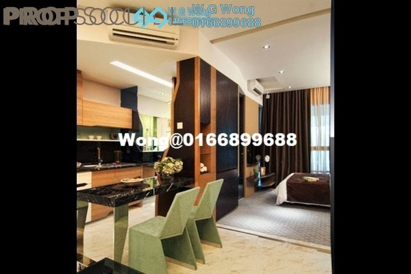 For Sale Serviced Residence at VERVE Suites, Mont Kiara Freehold Fully Furnished 1R/1B 659k