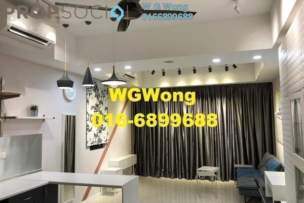 For Rent SoHo/Studio at Icon City, Petaling Jaya Freehold Fully Furnished 1R/1B 1.7k