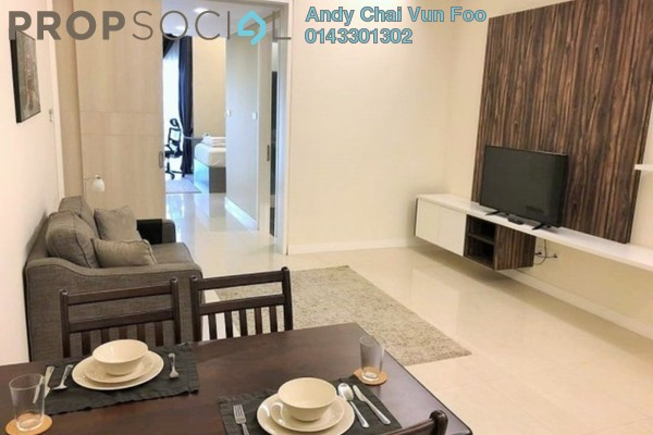 For Sale Condominium at The Horizon Residences, KLCC Freehold Fully Furnished 1R/1B 950k