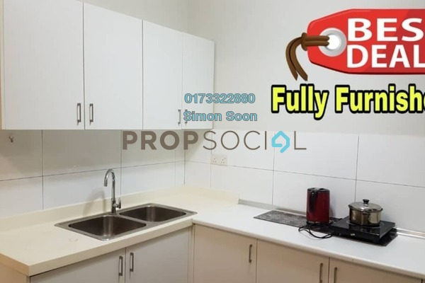 For Rent Condominium at KM1, Bukit Jalil Freehold Fully Furnished 3R/2B 2.38k