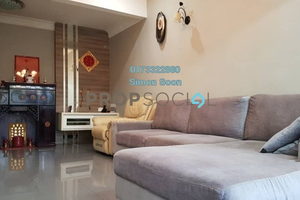 For Sale Terrace at Pandan Perdana, Pandan Indah Freehold Fully Furnished 3R/2B 618k