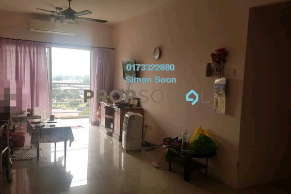 For Sale Condominium at Casa Idaman, Jalan Ipoh Freehold Semi Furnished 3R/2B 428k