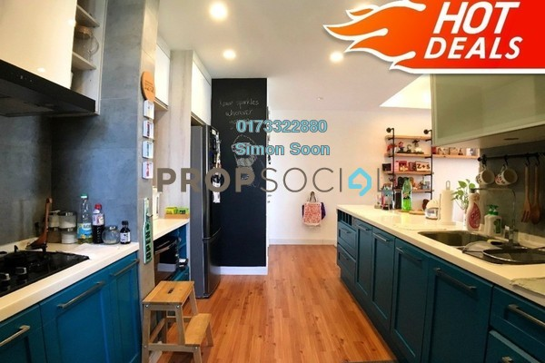 For Sale Condominium at Midfields, Sungai Besi Freehold Fully Furnished 3R/2B 538k