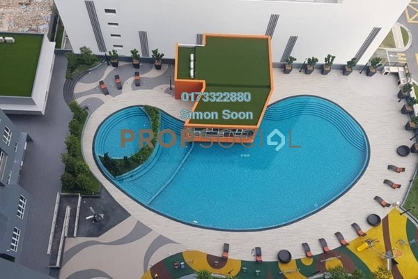 For Sale Condominium at The Holmes, Bandar Tun Razak Freehold Unfurnished 3R/2B 508k
