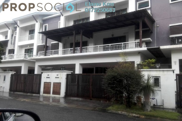 For Sale Terrace at Taman Meranti Jaya, Puchong Freehold Semi Furnished 5R/4B 1.1m