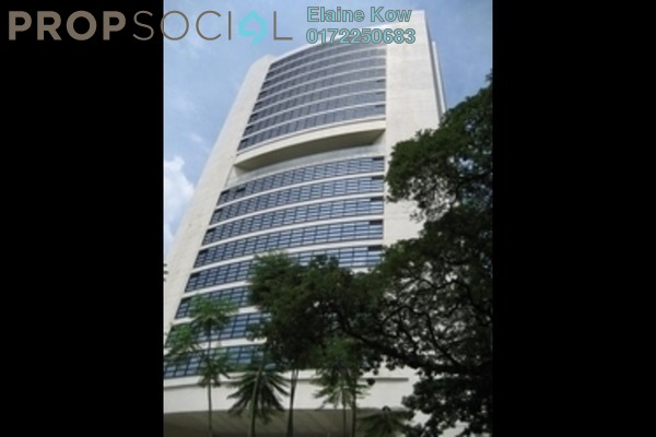For Rent Office at Plaza 138, KLCC Freehold Semi Furnished 0R/0B 3k