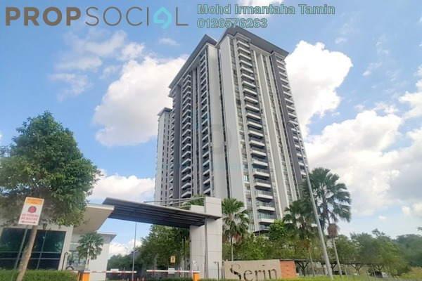 For Sale Condominium at Serin Residency, Cyberjaya Freehold Semi Furnished 3R/2B 450k